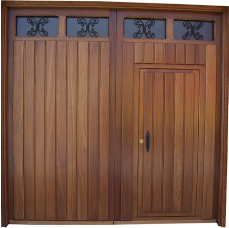 Puertas y portones de madera for Puertas y portones de madera