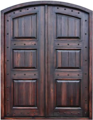 Puertas y portones de madera for Porton madera antiguo